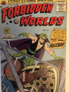 Forbidden Worlds #125,VG.a special one!Magic Agent app, origin Magic Man, cont.