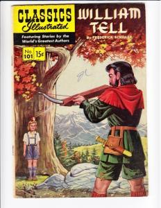 Classics Illustrated #101 (Nov-52) VG/FN Mid-Grade William Tell