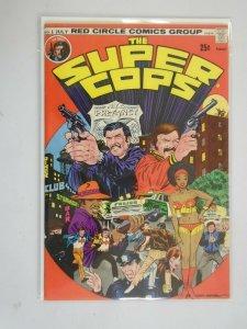 Super Cops #1 5.0 VG FN (1974 Red Circle)