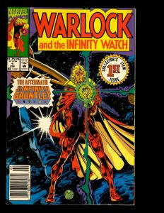12 Warlock And The Infinity Watch Comics # 1 2 8 9 10 12 13 14 16 17 19 20 EK10