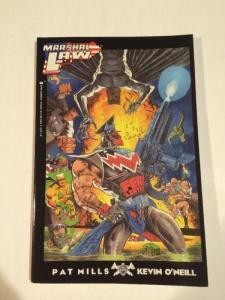 Marshal Law 1st Print Tpb Epic Comics Pat Mills Keven Oneill VF