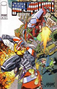 Superpatriot: Liberty & Justice #3 VF/NM; Image | save on shipping - details ins