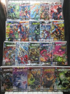 Justice League (DC New 52 2012) #2-42 Lot of 27Diff Geoff Johns Superhero Team
