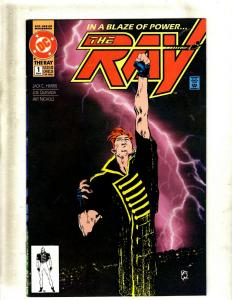 13 DC Comic Books The Ray #1 2 3 + Back In A Blaze #1 2 3 4 5 6 7 8 Ray #0 J397