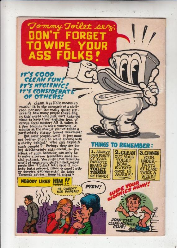 Your Hytone Comix #1 (Jan-71) VG/FN Mid-Grade Mr. Snoid, Flakey Foont, Mr. Na...