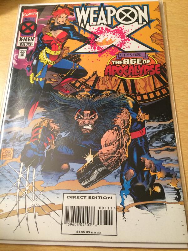 Weapon X #1 The Age of Apocalypse