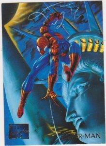 1995 Marvel Masterpieces #93 Spider-Man