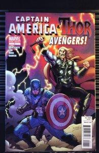 Captain America & Thor: Avengers #1 (2011)