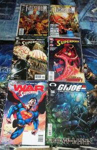 Eddy Barrows Collection#2!16 books F-VF+! Birds of Prey! Superman!Titans!GIJoe!
