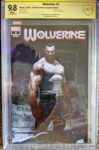 WOLVERINE #2 CBCS 9.8 SIGNED!