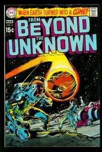 From Beyond the Unknown #3 1970- Neal Adams black cover- Infantino- VF