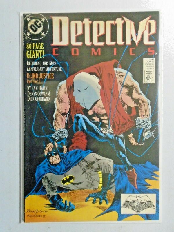 Detective Comics #598 1st Series 5.0 (1989)