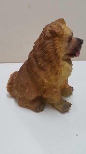 Figura de perro de resina: Chow Chow de 7x6 cm