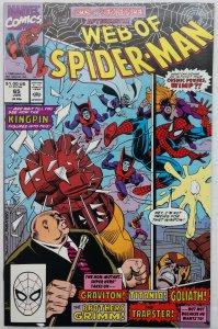 Web of Spider-Man #65 (NM-)(1990)