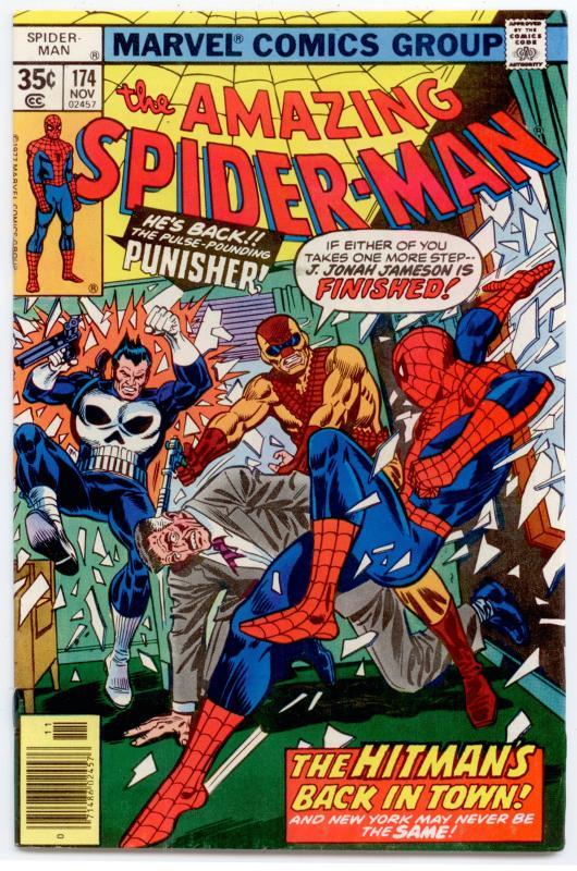 Amazing Spider-Man #174 VF/NM 9.0  Punisher app.