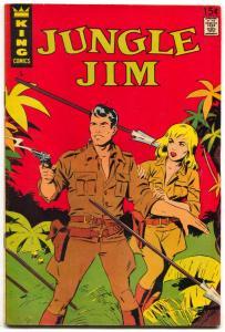 Jungle Jim #5 1967- King comics- Wally Wood FN-