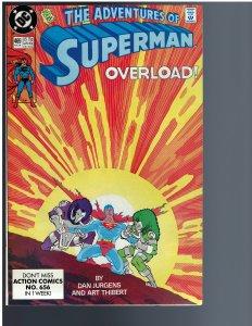 Adventures of Superman #469 (1990)