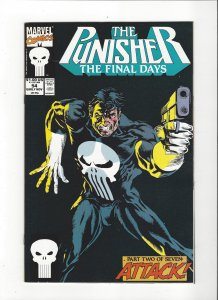 The Punisher #55 (1987)  Final Days Marvel Comics NM
