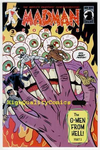 MADMAN #19, NM, Mike Allred, G-Men from Hell, Kuper, more MM in store