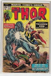 THOR (1966 MARVEL) #224 GOOD A09297