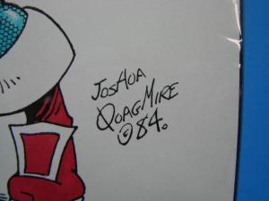 Joshua Quagmire Cutey Bunny 11 x 8.5 Colored Print Kelly O'Hare
