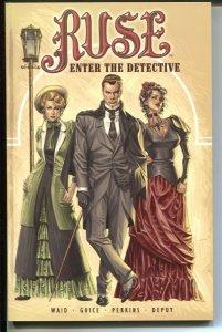 Ruse: Enter The Detective-Mark Waid-2002-PB-VG/FN