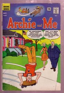ARCHIE AND ME #4 1965-BETTY & VERONICA-REGGIE-JUGHEAD VG