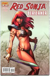 RED SONJA Berserker #1, NM-, Joseph Linsner, Robert Howard, 2014
