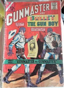 GUNMASTER AND BULLET THE GUN BOY COMIC BOOK-#2-DATED: NOV. 1964