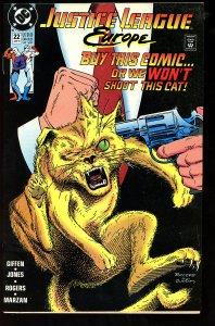 Justice League Europe #22 (1991)
