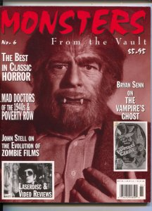 Monsters From The Vault #6 1998-Vampire's Ghost-Fumetti style-mad doctors-VF/NM
