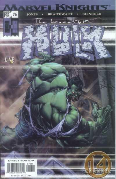 Incredible Hulk (2000 series) #76, NM- (Stock photo)