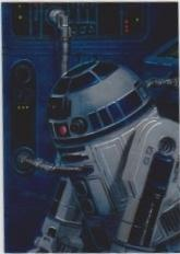 1996 Topps Finest Star Wars R2-D2 #83 Chromium