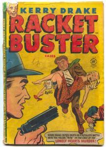 Kerry Drake Racket Buster #10 1952- Golden Age Crime restored FR/G