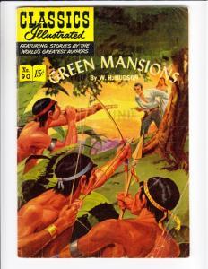 Classics Illustrated #90 (Dec-51) VG Affordable-Grade