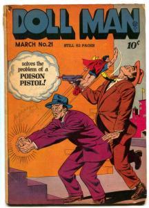 Doll Man #21 1949- TORCHY- Bill Ward Golden Age G+