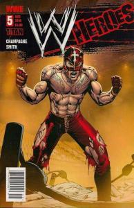 WWE Heroes #5, VF+ (Stock photo)