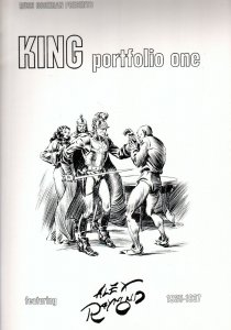 King Portfolio One #1 1976-Alex Raymond-Flash Gordon-Prince Valiant-FN