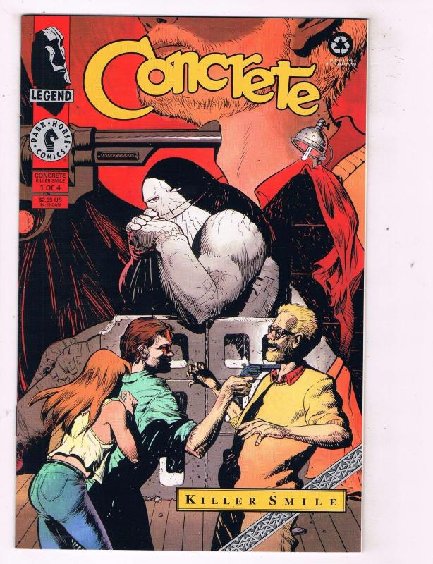 Concrete Killer Smile Complete Dark Horse Comics Limited Series # 1 2 3 4 TW12