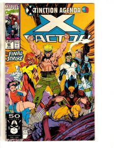 Lot Of 8 X-Factor Marvel Comic Books # 62 80 84 85 86 81 127 128 Wolverine JW2