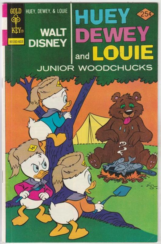 Huey Dewey and Louie Junior Woodchuks #37 (Mar-76) VF+ High-Grade Huey Dewey ...