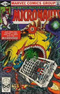Marvel THE MICRONAUTS (1979 Series) #30 FN
