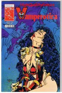 VAMPEROTICA #1, NM, Vampire, Femme Fatale, 2nd, 1994, more indies in store
