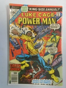 Power Man and Iron Fist Annual #1 4.0 VG (1976 Hero for Hire)