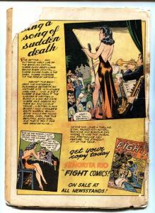 Wings #23 Golden-Age comic book 1942- Parachute Patrol- Skull Squad-