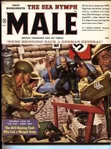 Male 9/1959 Bad Mags-Men's Adventure-Atlas-James Bama