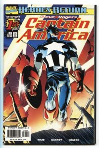 Captain America #1-1998 First issue-Comic Book-Marvel NM-