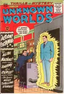 UNKNOWN WORLDS (1960-1967 ACG) 41 VG-F Aug. 1965 COMICS BOOK