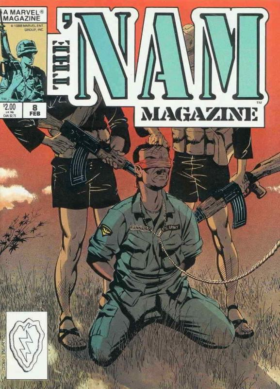 'Nam Magazine, The #8 FN; Marvel | save on shipping - details inside