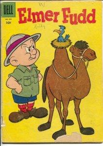 Elmer Fudd-Four Color Comics #888 1958-Dell-Camel cover-G